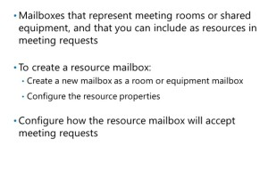 What Are Resource Mailboxes