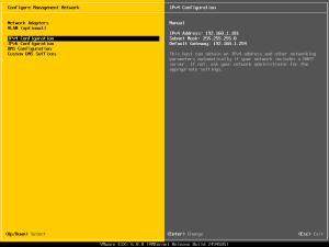 David Papkin - DCUI – Configure Network